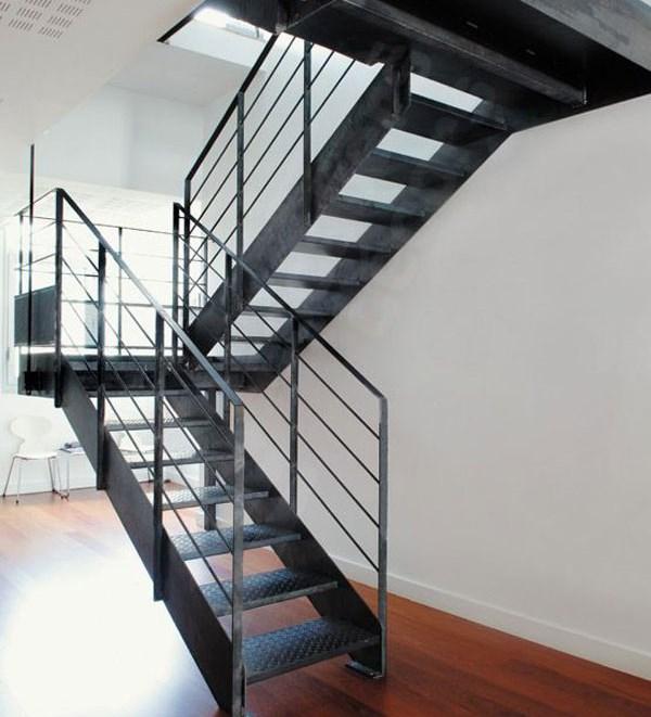 40 mẫu cầu thang sắt đẹp